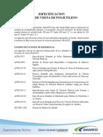Amanco Guia Especificaciones Pozo Polietileno
