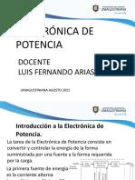 Corte 1.1 Introducción a La Electrónica de Potencia