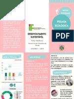 Panfleto - desenvolvimento sustentavel