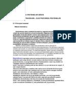 PS - ELECTROFOREZA PROTEINELOR