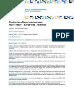 Revit MEP Modelisation Des Etudes Electricite Familles