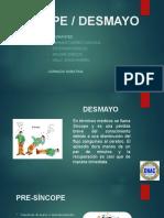 SINCOPE - DESMAYO