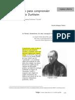 8 - Três fórmulas para compreender O suicídio, de Durkheim