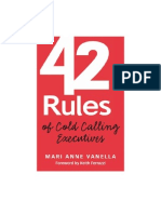 42 rule of cold calling Ex