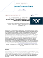 Papel_Politico___THE_CIVIL_VOTE_IN_TIMES_OF_STRUCTURAL_ADJUSTMENT_AND_SOCIAL_EXCLUSION__PERU_AND_VENEZUELA_IN_COMPARED_PERSPECTIVA
