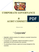 Corporate Governance - Audit Committee