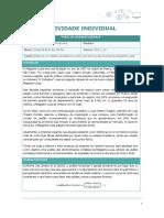 Contabilidade Financeira Atividade Individual