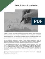 Pasos para el diseño de líneas de producción eficientes