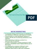 6.Niche Marketing