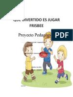 QUE DIVERTIDO ES JUGAR FRISBEE