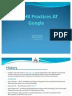 google organizational culture case study