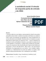 Psicanálise e Assistência Social CRAS