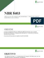 NBR 8403