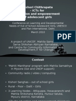 Responding to the learning and developmental needs of out-of-school adolescents