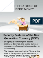 Security Features of Philippine Money