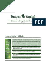 Corporate Presentation_Dragon Capital_Estimates of market capitalization before an IPO