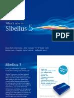What's new in Sibelius 5