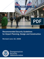 Airport Security Design Guidelines