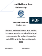 corporate law- II project