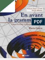 Grammaire en avant