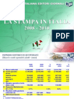 La Stampa in Italia 2008-2010