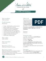 Formation du Cueilleur - Fiche plante - Alliaire officinale - print