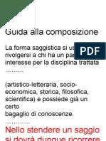 Guida alla composizione - 2
