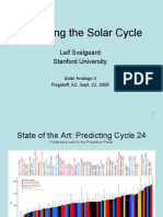 Predicting the Solar Cycle