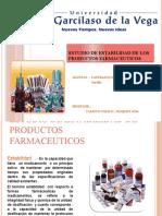Estudio de estabilidad de los productos farmaceuticos