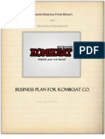 A. Ramosaj - F. Murati- KOMIKSAT CO.Business Plan