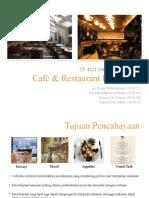 Cafe & Restaurant Lighting