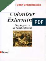Coloniser Exterminer