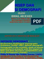 Konsep Dan Definisi Demografi.ppt Partemuan 1