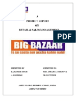 Big Bazaar Final Retail Sales Management Project