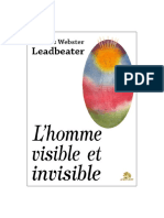Charles Webster Leadbeater_L'homme Visible et invisible