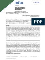 Influência da Adição de Cal Hidratada na Aderência do Preparo da Base Chapisco e Argamassa para Revestimento