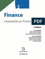 DSCG 2 - Finance - L'Essentiel en Fiches by Pascal Barneto, Georges Gregorio