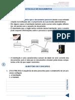 Resumo 322065 Elvis Correa Miranda 33112260 Arquivologia 2017 Aula 07 Protocolo de Documentos