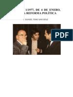 Ley 1-1977, de 4 de enero, para la Reforma Política