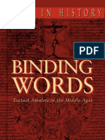 Skemer, Don - Binding Words - Textual Amulets in the Middle Ages