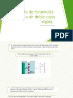 Modelo de Helmholtz-Perrin o de doble capa rígida