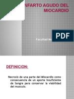 INFARTO AL MIOCARDIO Presentacion