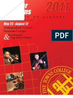 Five Towns College 2011 Summer Programs Catalog