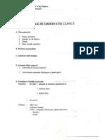 Foaie De Observatie Protetica