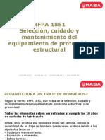 Nfpa 1854 Inspeccion Epp Bomberos