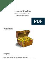 Lernmethoden Wortschatz m Birte 2021