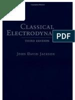 38990847 Jackson J D Classical Electrodynamics PDF