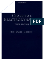 Jackson classical electrodynamics 3rd edition pdf solutions dallas