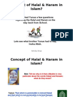 Why Muslims Eat Only HALAL food
