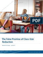 The False Promise of Class-Size Reduction